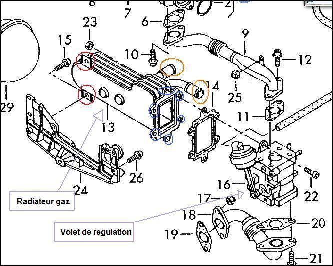 Radiateur Recyclage Des Gaz D 233 Chappement Bkd Probl 232 Mes