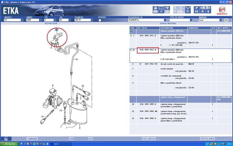 capteur de pression differentiel du fap   probl u00e8mes