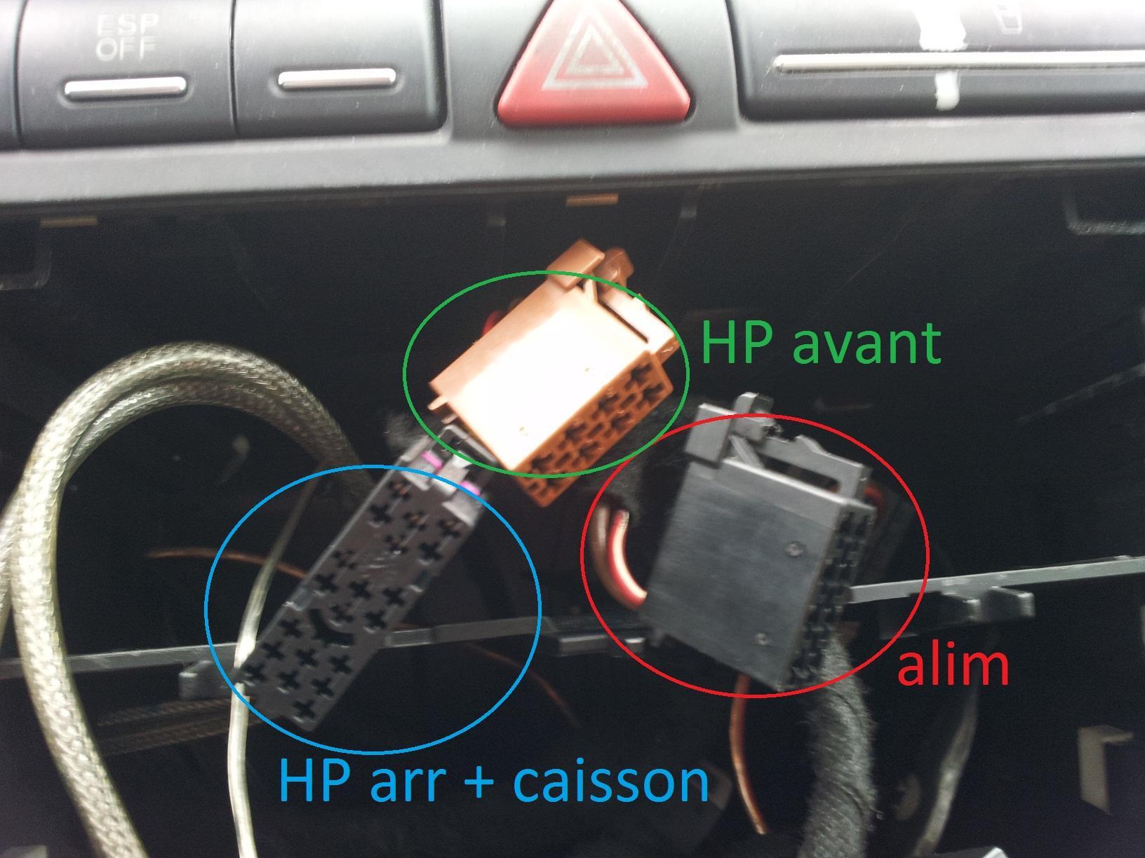 Probleme De Haut Parleur Problemes Electrique Ou Electronique Forum Audi A3 8p 8v