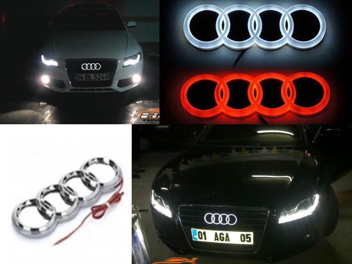 Très Logo Audi LED - Pour ou contre ? : Esthétique extérieure - Forum  VG19