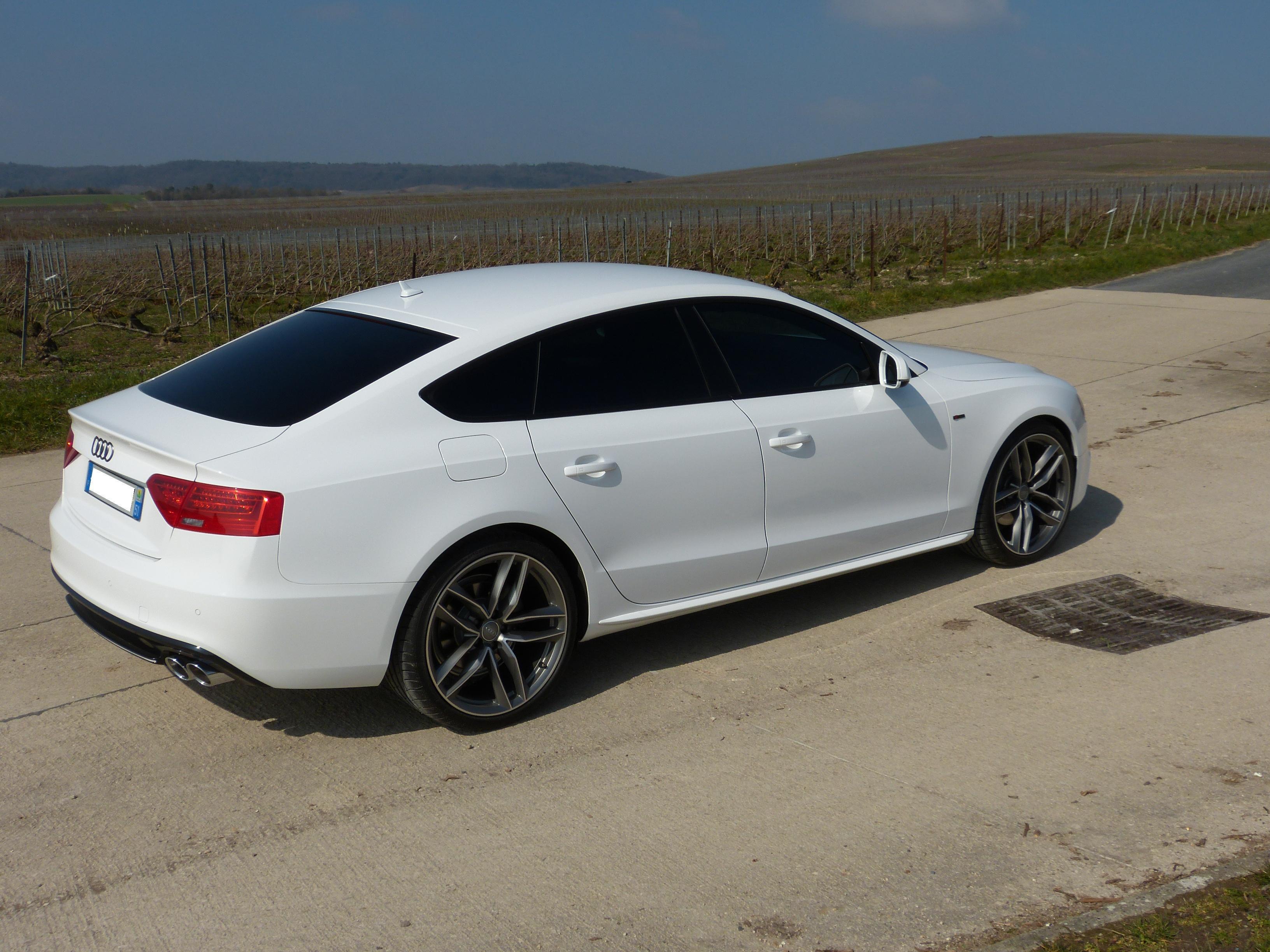 Audi A5 Blanche Jantes Noires Best Auto Galerie