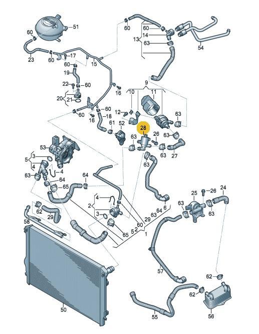 d faut vanne bypass liquide de refroidissement s3 8v. Black Bedroom Furniture Sets. Home Design Ideas