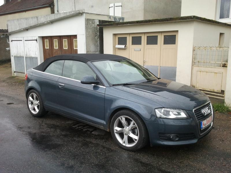 mahane71 mon a3 cabriolet 2 0 tdi 140ch garages des a3 cabriolet page 2 forum audi a3 8p. Black Bedroom Furniture Sets. Home Design Ideas