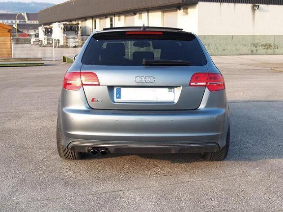 Damien76 S3 Sportback Argent Monza Garages Des S3 2 0