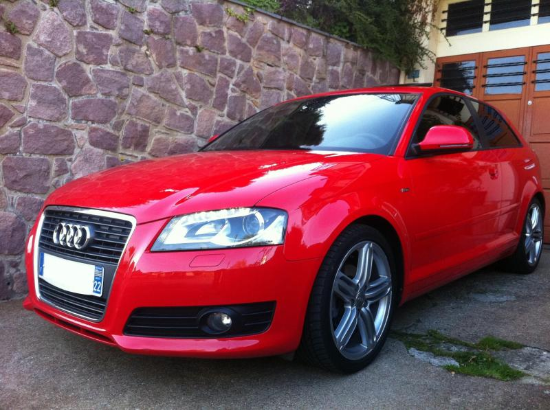 niko mon a3 s line rouge misano garages des a3 1 6 1 9 tdi 105 page 2 forum audi a3 8p 8v. Black Bedroom Furniture Sets. Home Design Ideas