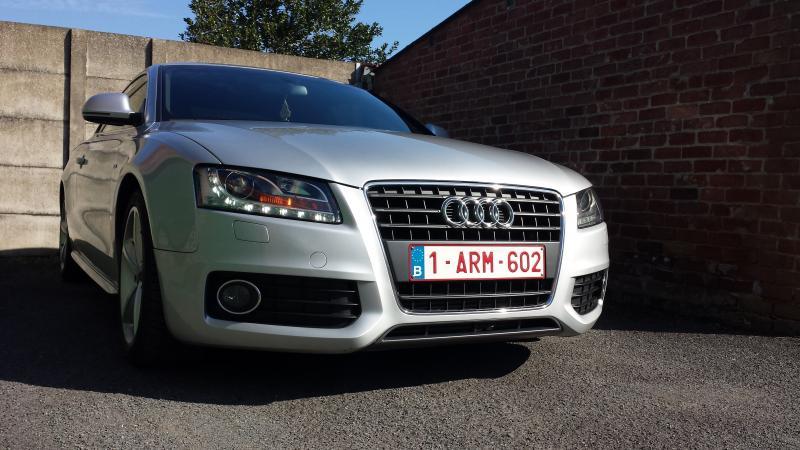 S line90 audi a5 2 7l v6 190ch s line vendu autres for Garage audi belgique mouscron