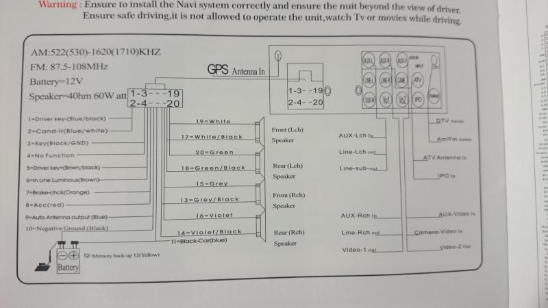 installation nouvel autoradio et probl u00e8mes   probl u00e8mes